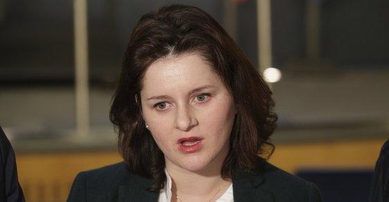 Jana Maláčová po koaliční radě (1.4.2019)