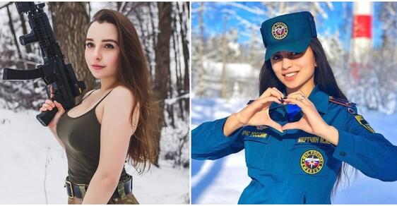 Nejen Izrael má krásky v uniformě. Ruské vojandy ukazují, že i Putinova armáda umí být sexy