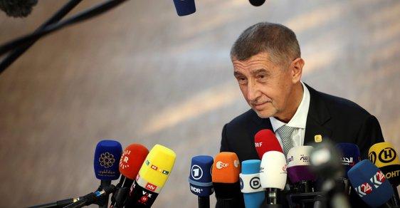 Přivítání mistra světa Andreje Babiše na pražském letišti.