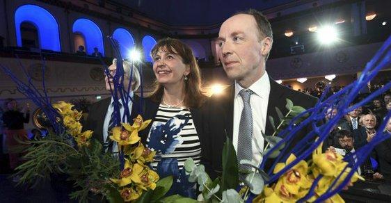 Jussi Halla-aho, nová hvězda finské politiky. Předseda protestní Strany Finů téměř vyhrál parlamentní volby