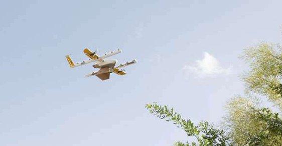 Wing už spustil testovací provoz doručování drony v Austrálii