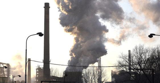 Znečištění – ilustrační snímek