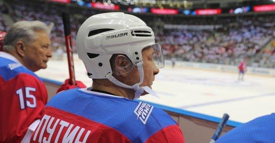 Karel Steigerwald: Putin vynikl i v hokeji, ale na mistrovství světa ho do ruské reprezentace nenasadí