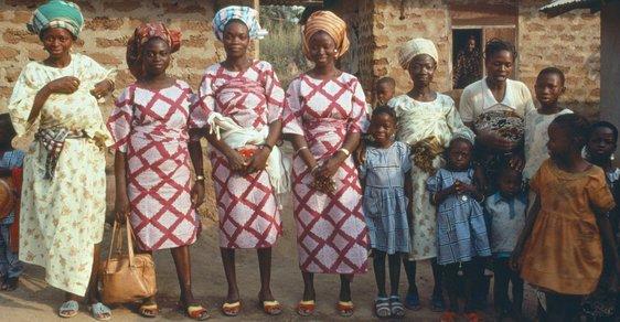 Polygamie byla dosud v západoafrické Guineji zákony neomezovaná. (ilustrační foto)