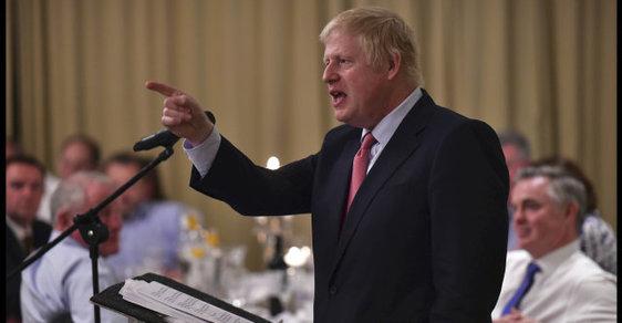 Boris Johnson chce nahradit Theresu Mayovou v čele britské Konzervativní strany
