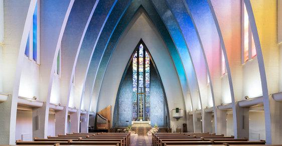 Posvátná krása: Podívejte se na třináct nejúžasnějších moderních kostelů na světě