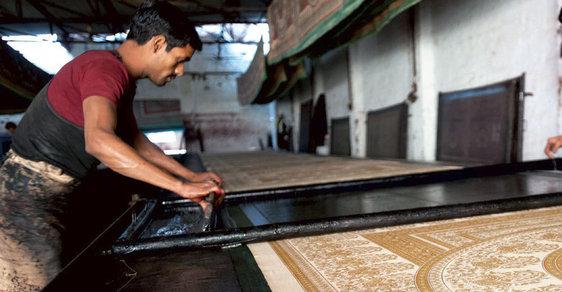 V uličkách indického města Džajpur aneb Návštěva tradiční tiskárny textilu