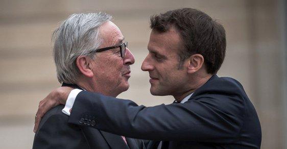 Volby mají určit nástupce Junckera v čele EU, situaci však komplikuje Macron. Projděte si možné scénáře