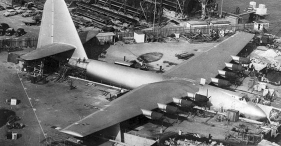 Hughes H-4 Hercules: Největší hydroplán v historii lidstva letěl jen 26 sekund