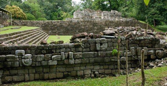 Starobylé sídlo Quiriguá na území Guatemaly ukrývá nejvyšší dochovanou stélu mayské civilizace