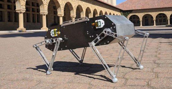 Robot Doggo, vynález studentů ze Stanfordovy univerzity.