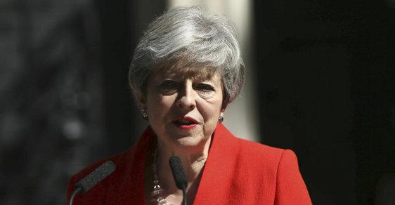 Theresa Mayová oznámila rezignaci na post předsedy Konzervativní strany