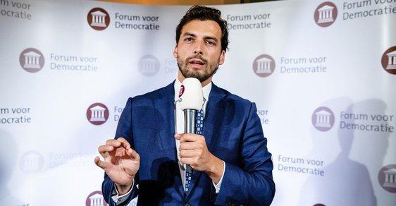 Thiery Baudet, šéf umírněně euroskeptické nizozemské strany Fórum pro demokracii