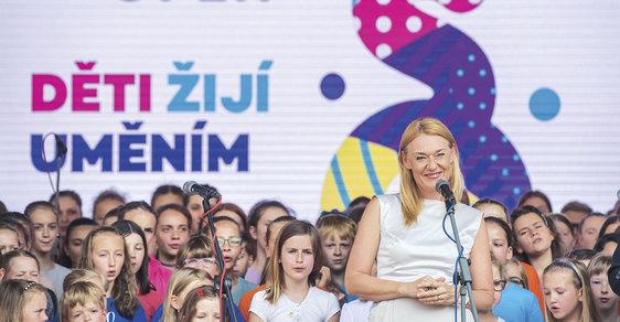 Magdalena Kožená, kdysi dívka zbrněnské lidušky, nyní mezzosopranistka světového jména