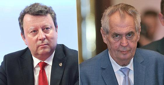 Miloš Zeman a Antonín Staněk