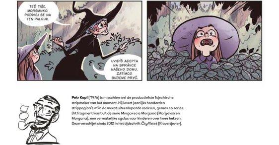 Prestižní belgický komiksový magazín zaostřil na český komiks