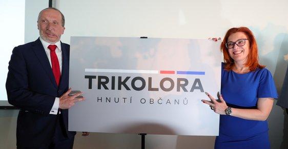 Václav Klaus ml. a poslankyně Zuzana Majerová- Zahradníková představili své hnutí Tikolóra. Hlavní metou jsou prý sněmovní volby v roce 2021 (10. 2018)