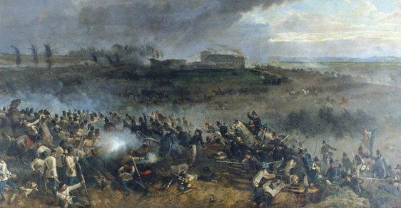 Bitva u Solferina: Boj v San Martinu