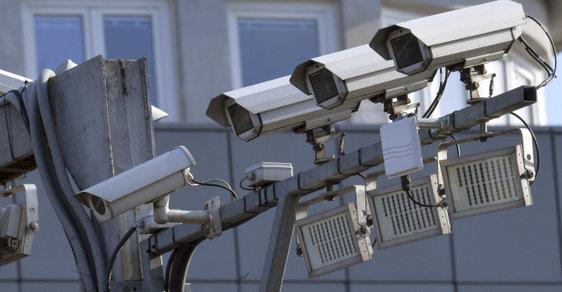 Kamery v ulicích byly také součástí projektu prevence kriminality