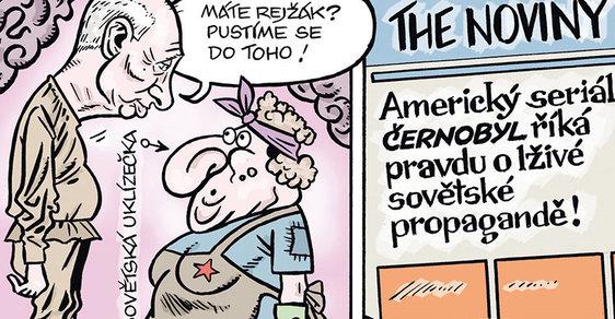 Zelený Raoul č. 1254 - Putin vymývá mozky