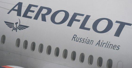 Letadlo ruských aerolinek Aeroflot
