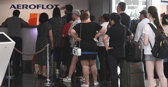 Česko dočasně povolilo lety Aeroflotu