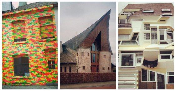 Nejošklivější a nejdivnější domy Belgie: Tahle instagramová kolekce vám vyčaruje úsměv na tváři