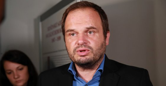 Místopředseda ČSSD Michal Šmarda.