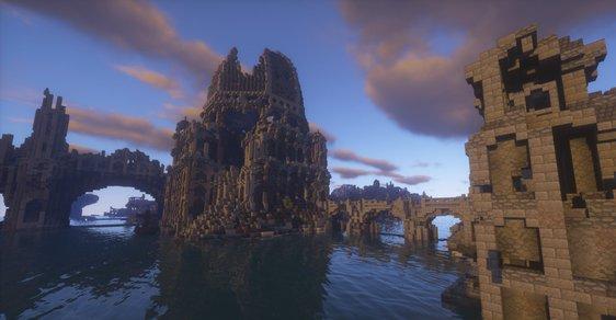 Středozem v Minecraftu: Devět let stavěli nadšenci z kostiček věrnou kopii bájného kontinentu