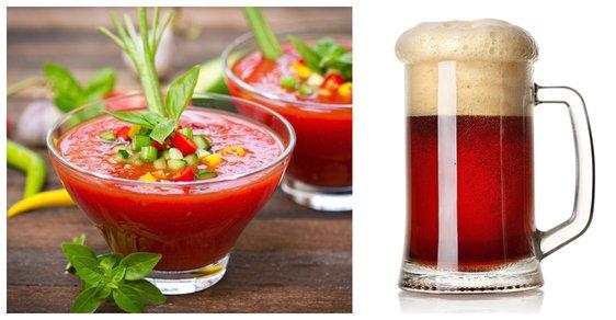 Dali byste si pivo s příchutí polévky gazpacho?