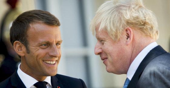 Emmanuel Macron se s Borisem Johnsonem setkal ve čtvrtek v Paříži.