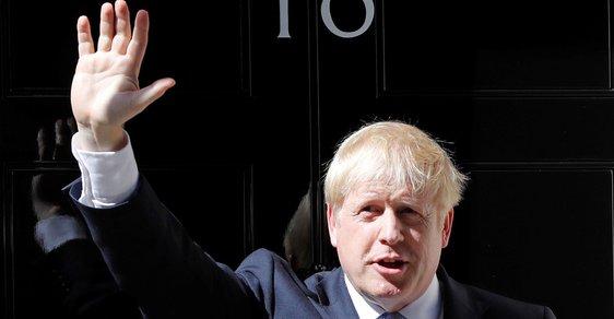Britský ministerský předseda Boris Johnson