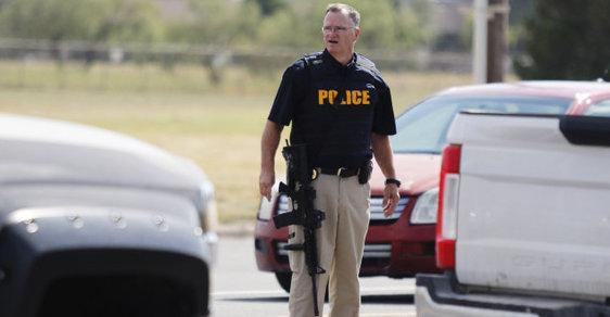 Střelba v texaském městě Odessa
