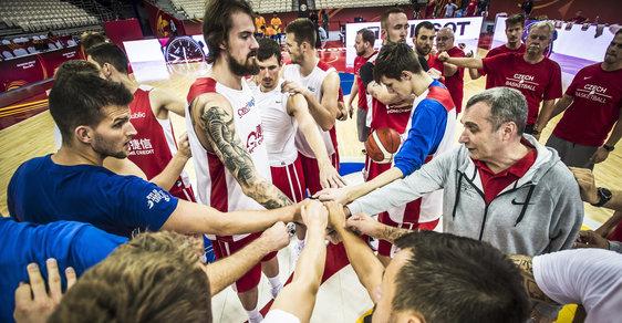 České basketbalisty čeká na MS klíčový zápas proti Turecku.