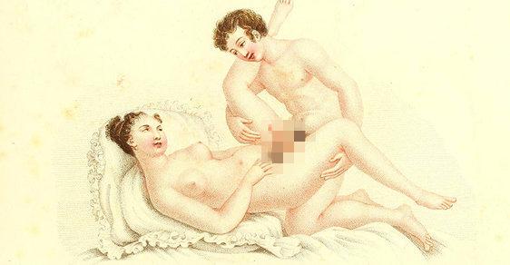 Porno a básně: Téměř 200 let staré sexuálně explicitní obrázky se prodaly za více než půl milionu korun