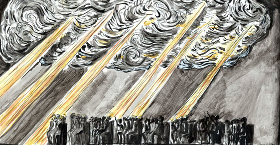 Signal Festival: Může mrak vplout do chrámu? Zažijte osvícení v bezčasí v kostele U Salvátora