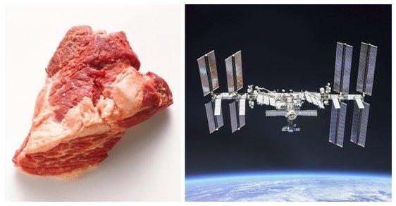 """Hovězí """"vytištěné"""" ve vesmíru: Astronauti si dokázali maso sami vypěstovat na stanici ISS"""