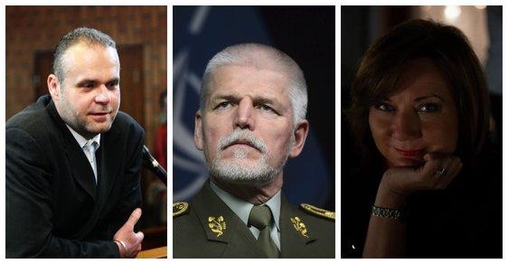 Prezidentská kampaň zahájena: Krejčířovi milost, generál je pavlačová drbna, černá klisna Schillerová