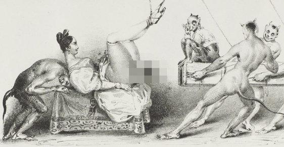 obrázky karikatur sexu