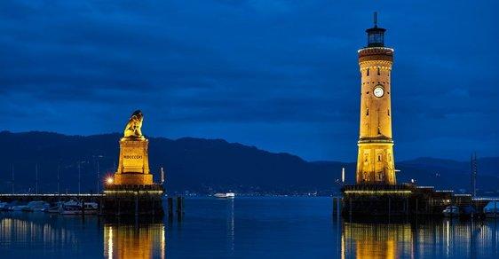 """Bavorské městečko Lindau: Prožijte letošní advent u Bodamského jezera ve """"městě lva"""""""