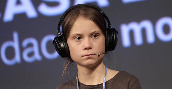 Greta Thunbergová prohlásila, že by světové vůdce postavila ke zdi. Později svůj výrok mírnila