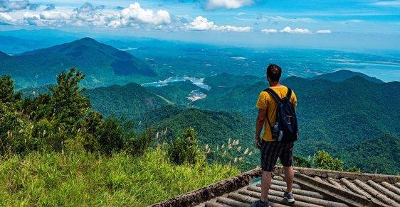 Na cestách po Indočíně, bývalé francouzské kolonii na poloostrově Zadní Indie: Dobře utajený park Bach Ma