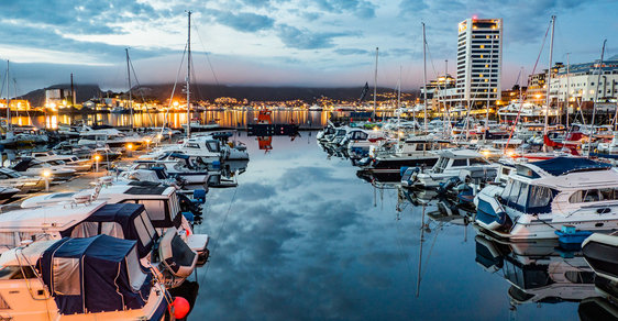 Výlet do norského městečka Bodø aneb Jak se žije v létě za polárním kruhem