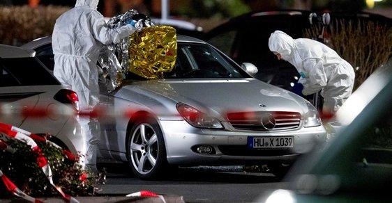 Nejméně 11 mrtvých po útoku pravicového radikála v německém Hanau. Přiznal se v dopise i videu