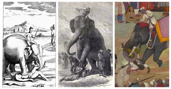 Poprava slonem – rozřezání i rozšlápnutí hlavy: Brutální trest smrti byl populární ještě v 19. století