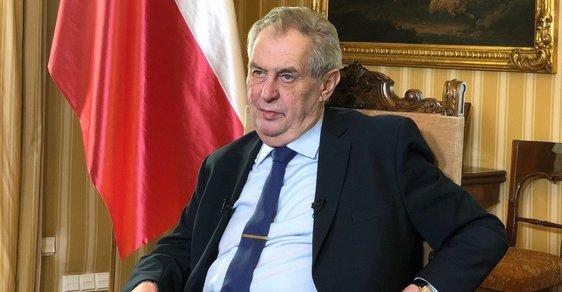 Žádná amnestie nebude. Zeman ji odmítl kvůli koronaviru vyhlásit