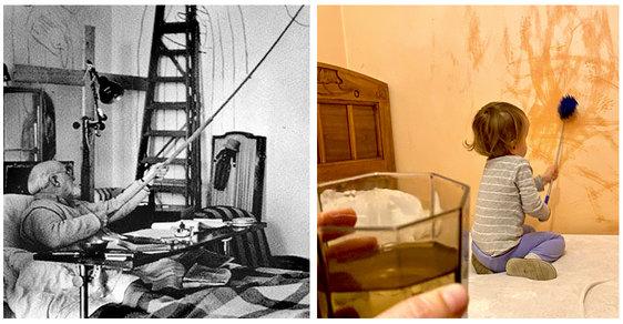 Dopady karantény: Když jsi malíř v izolaci versus Když jsi matka v izolaci