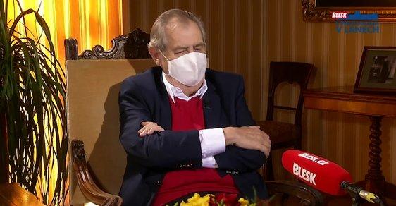 Bohumil Pečinka: Zeman přednesl projev zámeckého pána