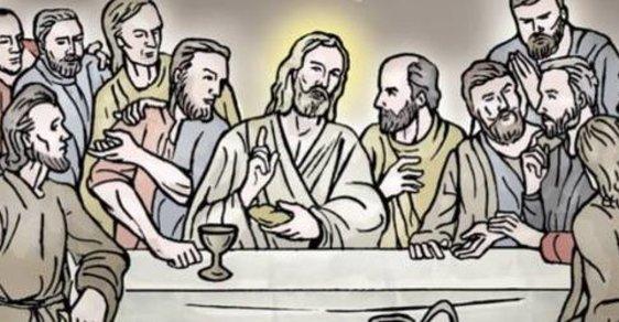 Zelený Raoul: Ježíš Kristus v časech koronaviru aneb Nemá roušku, ukřižujte ho!
