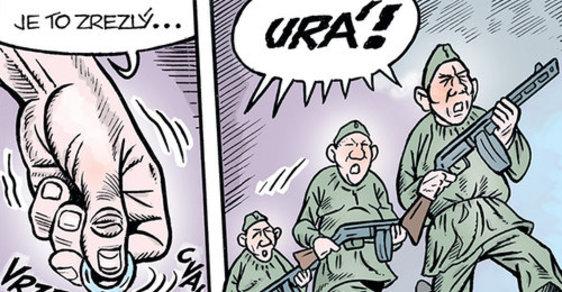 Zelený Raoul: Nová ruská okupace aneb Tajemství sochy maršála Koněva